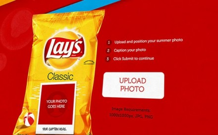 Your face on a Lay's bag of chips