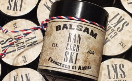 Kanclerskishop.com balm self-adhesive labels